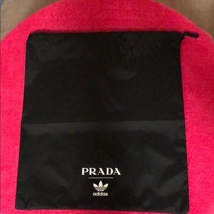 Prada x Adidas dust bag